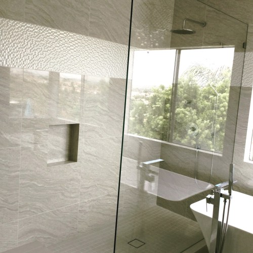 Custom Splash Panel By Blizzard Frameless Showers