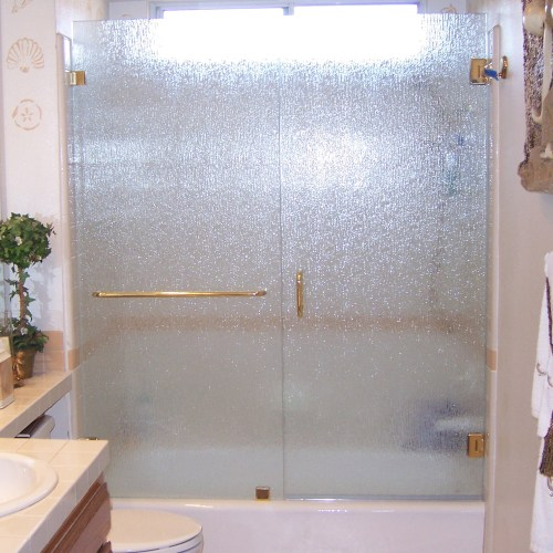 Inline With Tub 8 By Blizzard Frameless Showers