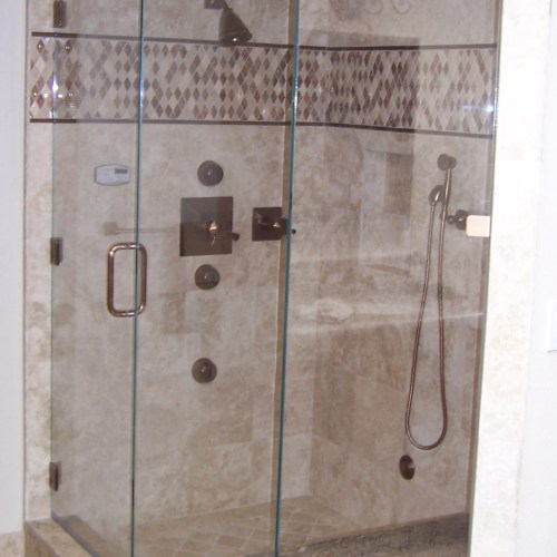 Neo Angle 10 With Notch By Blizzard Frameless Showers