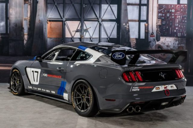 Race-prepped Mustang GT4 to provide customers around the world access to turn-key Mustang eligible for competition in several motorsports series