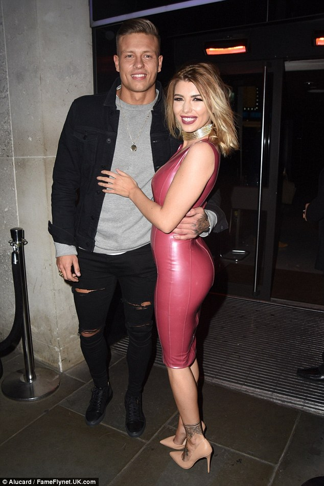 Strike a pose: The photogenic couple posed for a slew of snapshots outside the hotspot