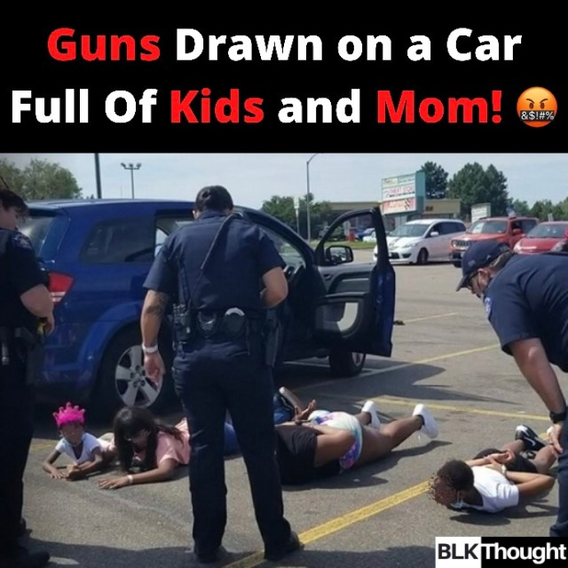 Guns Drawn on a Car Full Of Kids and Mom!