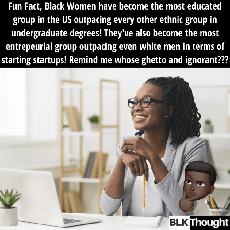 Black Women Have Become the Most Educated and Entrepreneurial