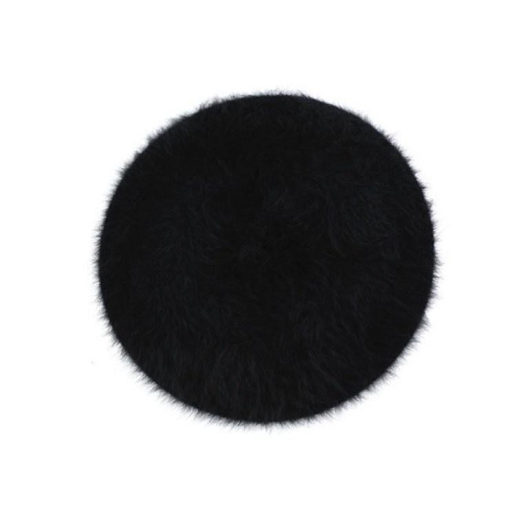 The Best Berets: Headict Soft Angora Wool Beret in Black