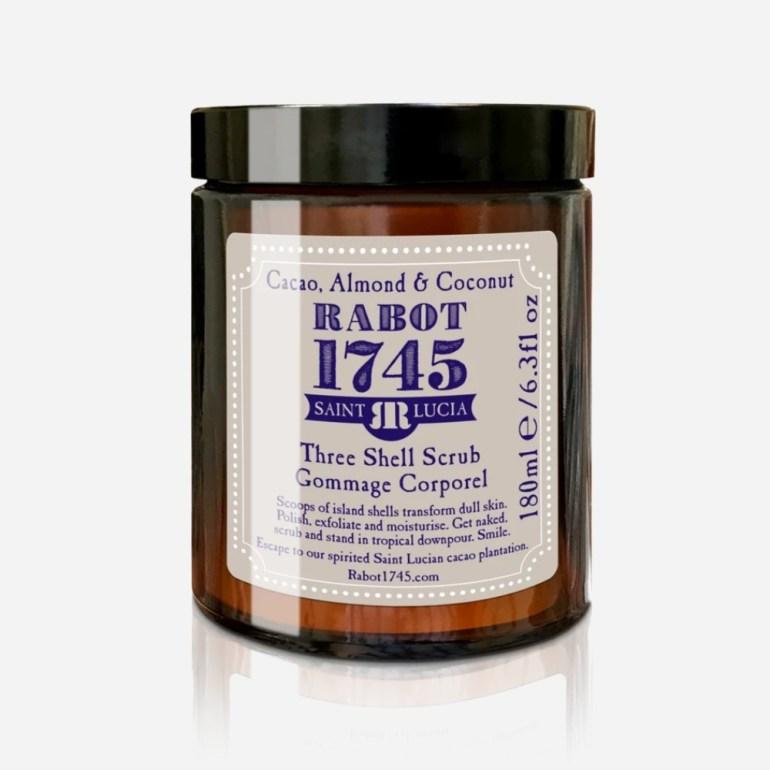 Rabot 1745 Cacao, Almond & Coconut Three Shell Scrub