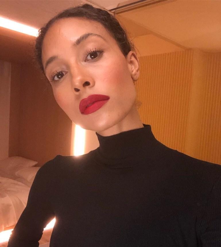 The Sheer Matte Red Lipstick: TyLynn Nguyen in YSL Lipstick