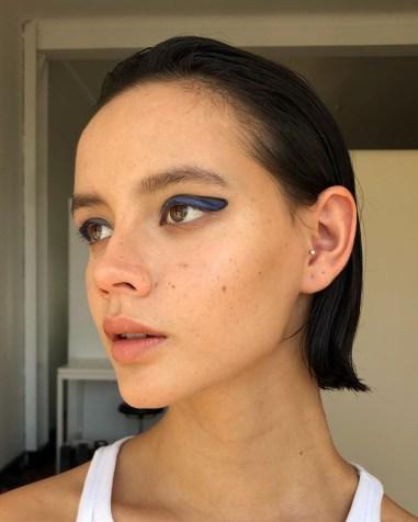 Graphic Eyes Makeup Trend: Makeup Artist Nisha Van Berkel