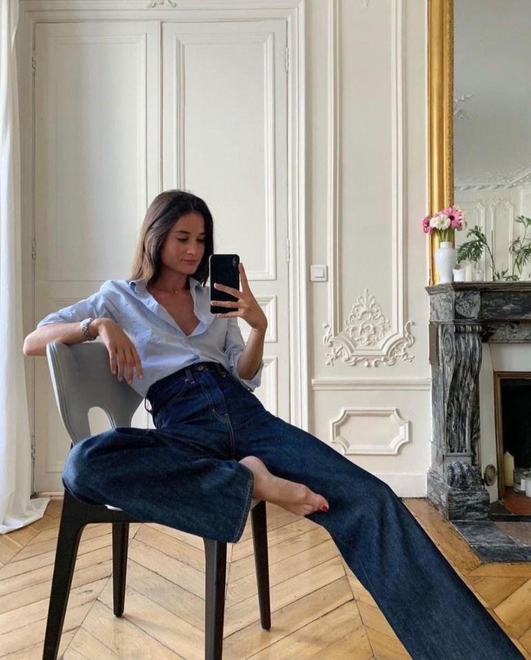 How To Wear Wide-Leg Jeans: Digital Creator Julie, Paris
