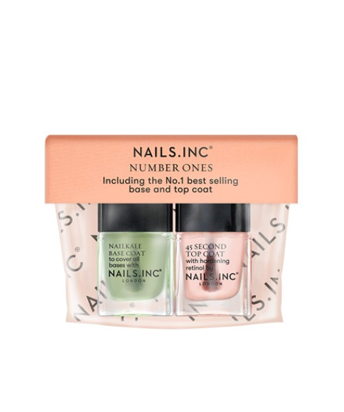 Nails.INC Number Ones Base and Top Coat Duo