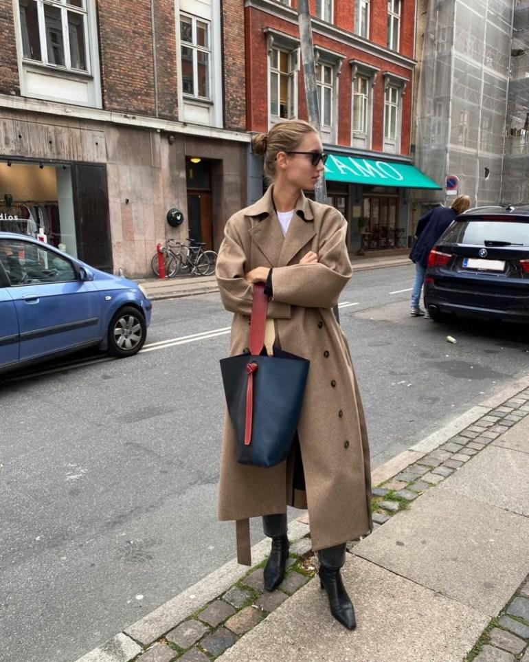 Spring Trench Coats 2021 - Fashion Model Amalie Moosgaard Nielsen