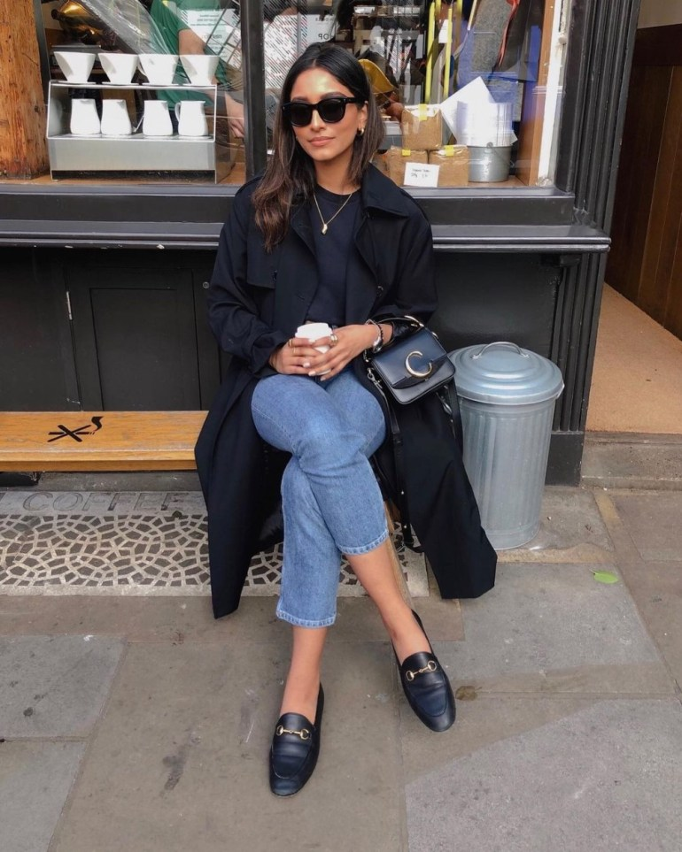 Spring Trench Coats 2021 - Style Blogger & Youtuber Hannah Desai cocobeautea