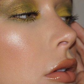 Colourful Shimmers: Yellow Gold by Writer & Beauty influencer Corrine Reed / @corrinereed