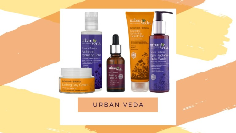 Urban Veda Natural Ayurvedic Skincare Routine