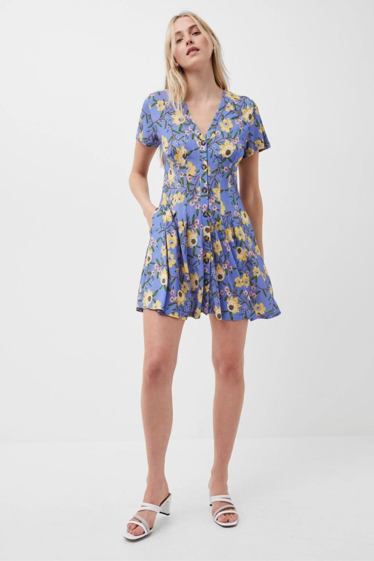 French Connection Eloise Meadow Jersey Dress