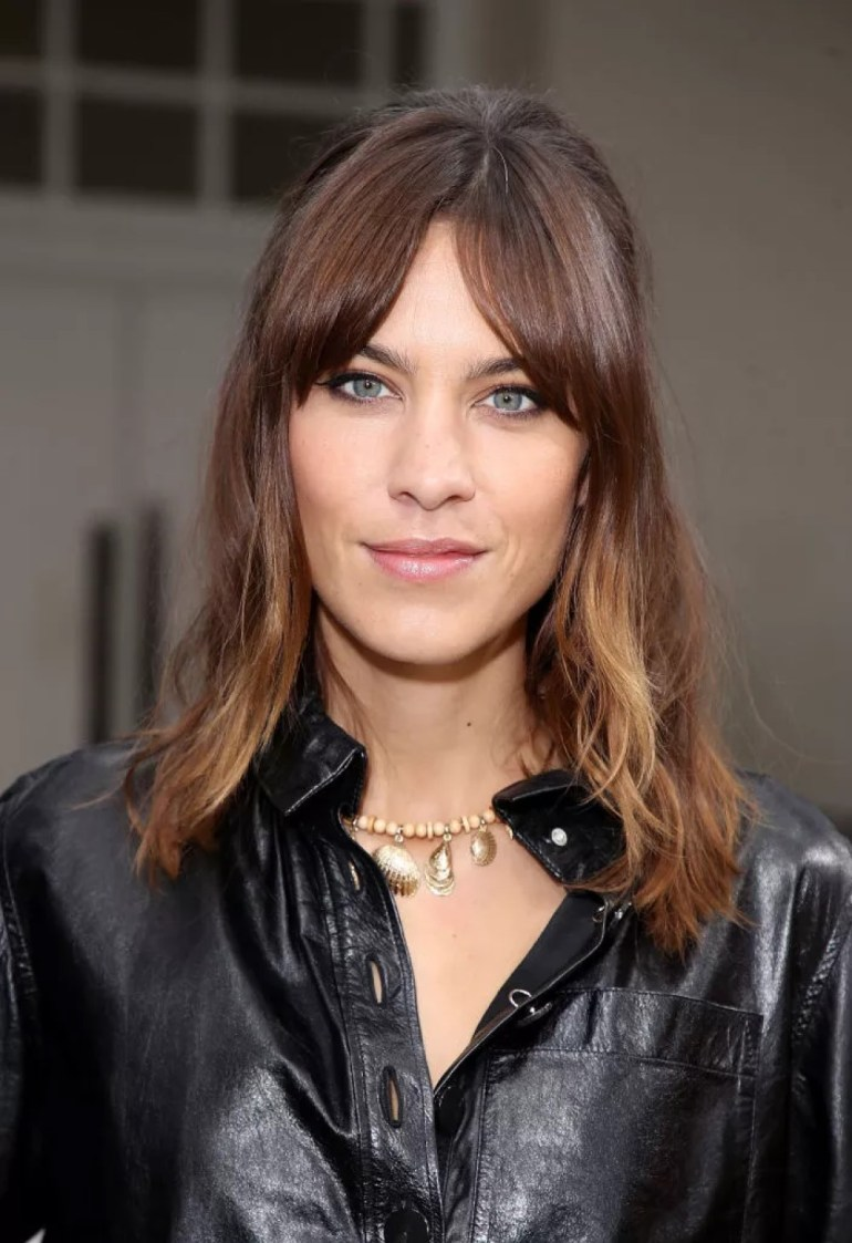 The Textured Shaggy Lob Hairstyle: Alexa Chung - Gorgeous Short Hairstyle Ideas For 2021