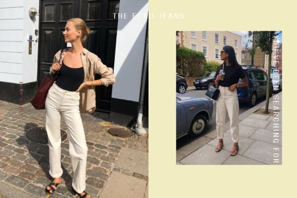 Ecru Jeans: The Summer Staple You've Been Searching For