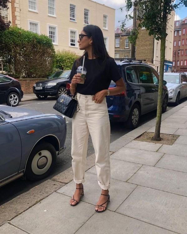 The Best Ecru Jeans: Hannah Desai