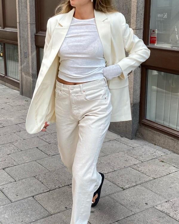 Ecru Jeans: Tuva Malmo