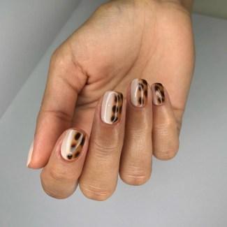 Autumn 2021 Nail Art Trends: Tortoiseshell Nails - NailsbyMK