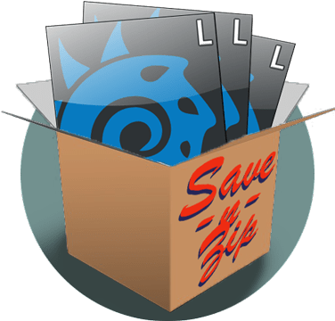 Save-n-Zip: automagic backups for Lightwave3D