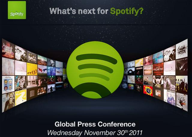 Spotify presenta canvis per al 30 de novembre