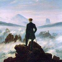 El caminante sobre el mar de nubes (Friedrich, 1818)