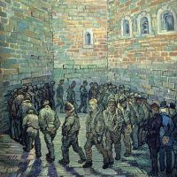La ronda de los presos (Van Gogh, 1890)