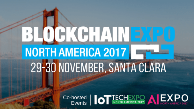 Blockchain Expo North America - November 2017 in Santa Clara1