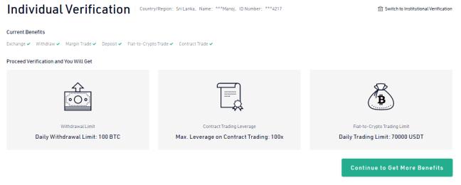 kucoin verification