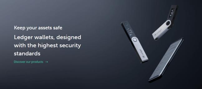 ledger hardware wallets