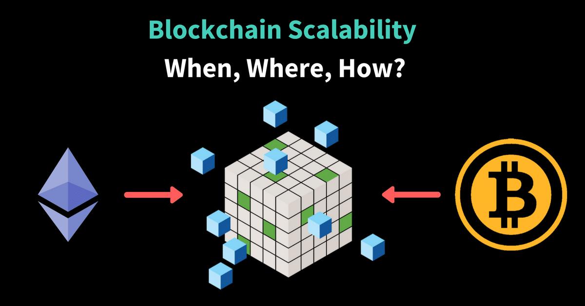 Blockchain Scalability: When, Where, How?