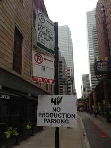 They had areas closed off in Chicago for Transformers 4 filming.