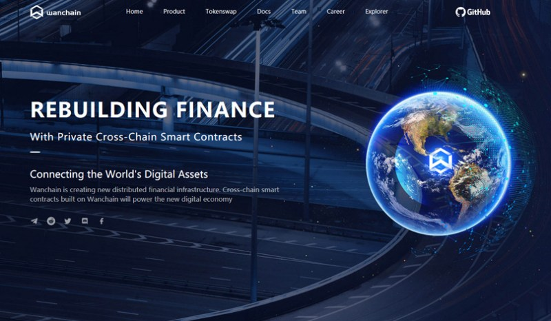 Wanchain Website