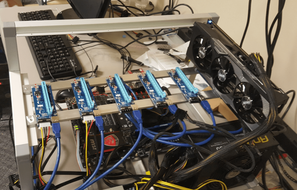 How to build cryptocurrency miner