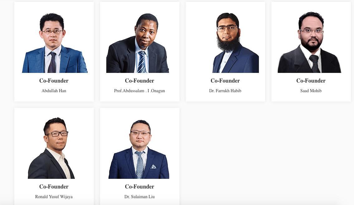 HalalChain's Team