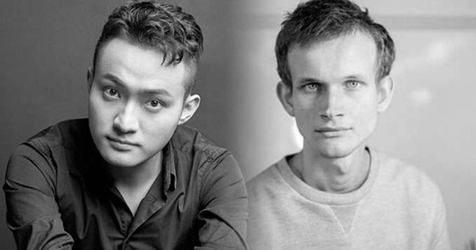Reddit Cryptocurrency: Encounter between Ethereum's Vitalik Buterin and Tron's Justin Sun