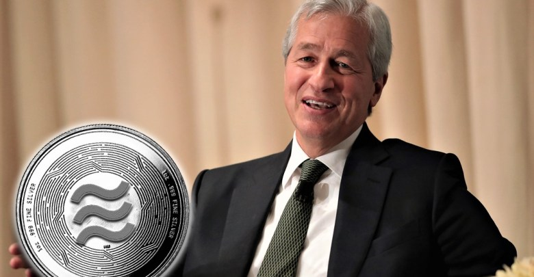 J.P. Morgan CEO Facebook's Libra Can be a Threat to JPM Coin