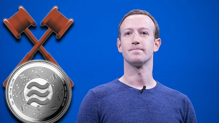 Libra Face-Off Against Bankers It's Getting Chaotic for Facebook's Crypto