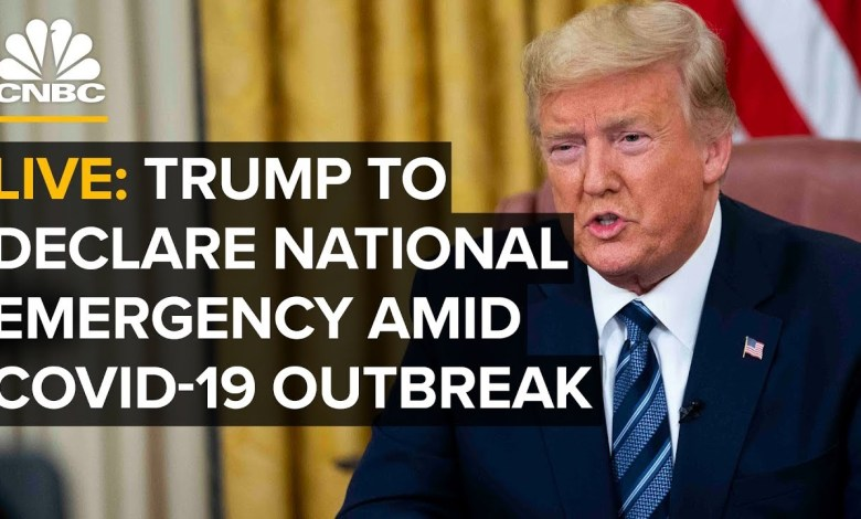 WATCH LIVE: President Trump to Declare National Emergency Over Coronavirus Pandemic
