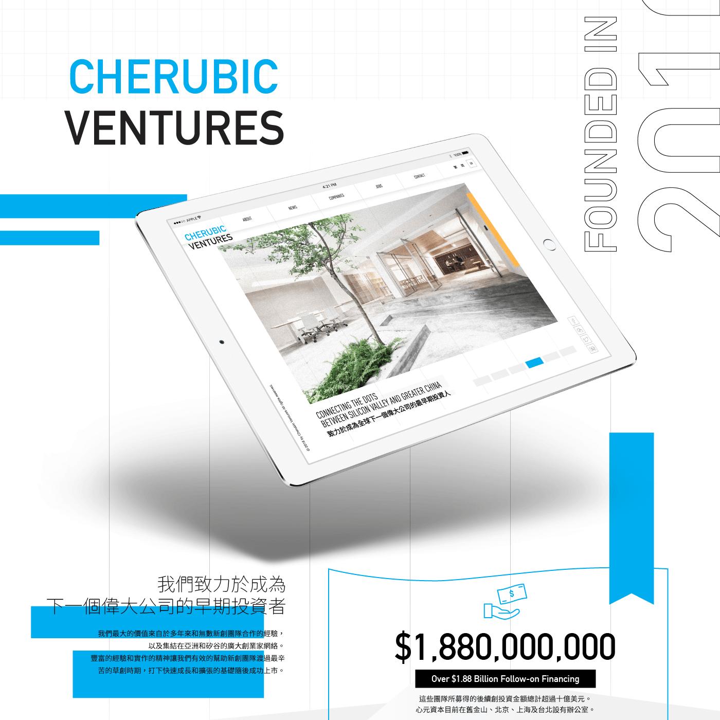 Cherubic Ventures 心元資本 | 版塊設計 Block Studio