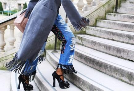 Junya-Watanabe-jeans-and-Prada-shoes