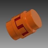 Blocos FP 3D:  Acoplamento Flexivel de Garras