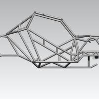 Blocos FP: Gaiola Tubular 3D - Chassi