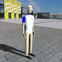 Blocos FP 3D:  Homem Paramétrico 3D