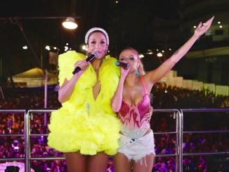 Luísa Sonza canta com Ivete no primeiro dia do trio da cantora em Salvador Fotos: Rafa Mattei e Rubens Cerqueira