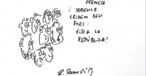 Dibuix de Raül Romeva.
