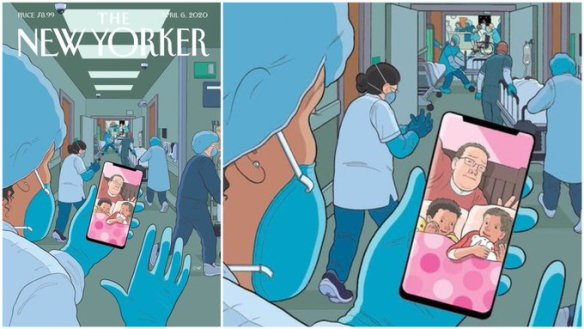 """Bedtime,"" de Chris Ware per al New Yorker."