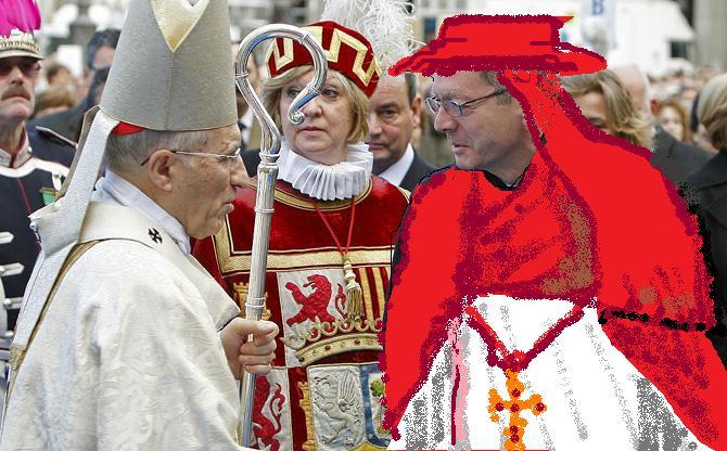 Pudor a sagristia, cardenal Rouco Varela i gran inquisidor Alberto Ruíz Gallardón.