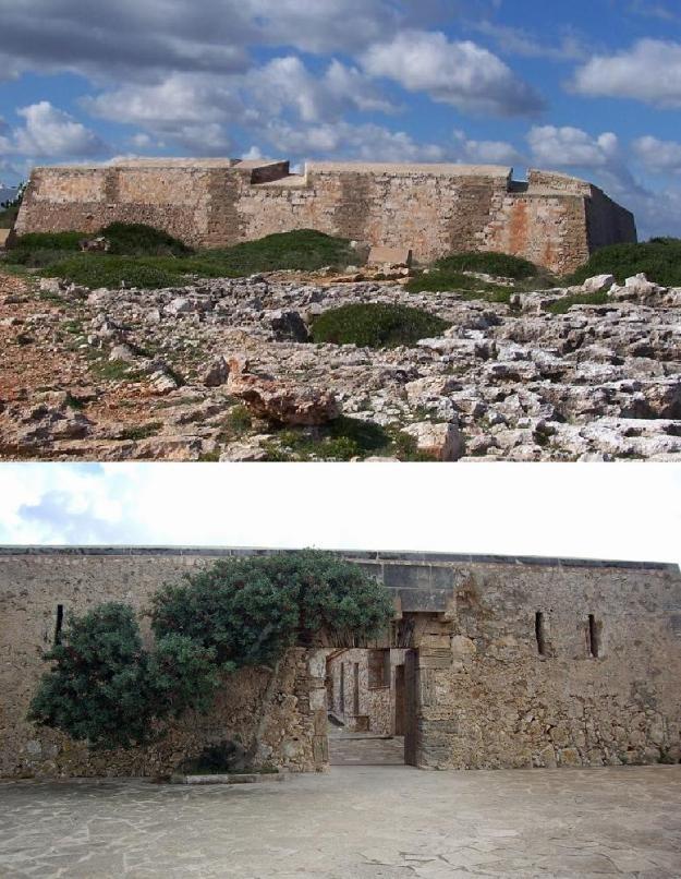 El fortí de Cala Llonga, bastit després del desembarcament