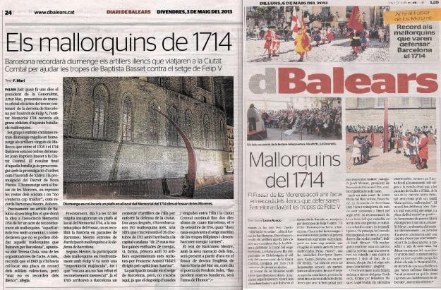 Homenatge al Fossar de les Moreres (5-V-2013)